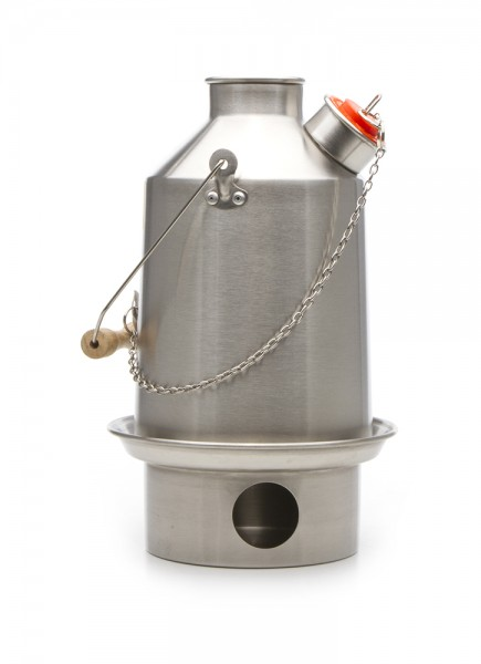 Kelly Kettle Scout Edelstahl Wasserkocher 1,2 Liter
