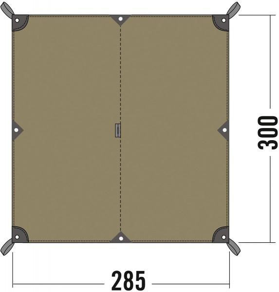 Tatonka Tarp 2 TC - 285 x 300 cm