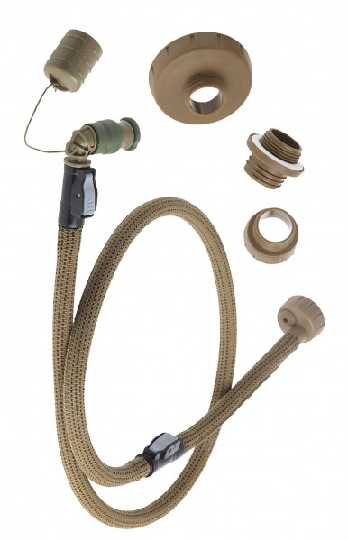 Source Convertube Trinkflaschen Adapter Set - Tactical