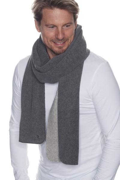 Tatonka Darwin Scarf - Pepple Grey