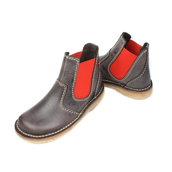 Duckfeet Roskilde Boot Slate/Red