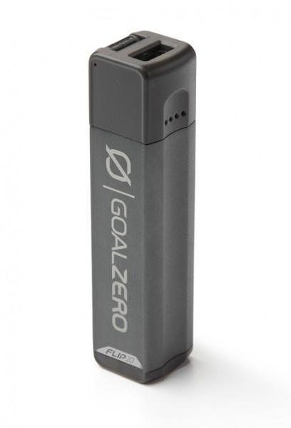 GoalZero Flip 10 Recharger Charcoal Grey