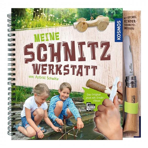 Buch Meine Schnitzwerkstatt mit Opinel-Kindermesser Nr. 7