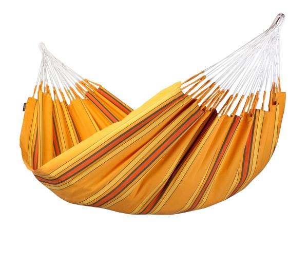 LA SIESTA Currambera Apricot - Klassische Doppel-Hängematte aus Baumwolle