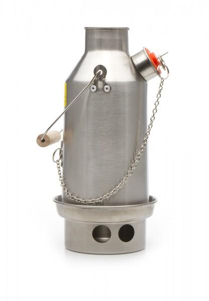 Kelly Kettle Trekker Edelstahl Wasserkocher 0,6 Liter