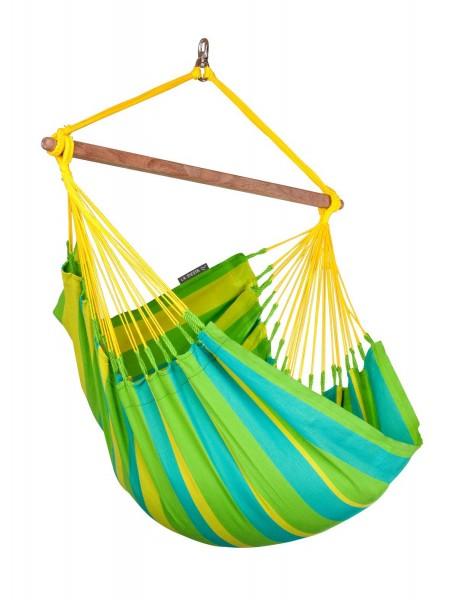 LA SIESTA® Sonrisa Lime - Hängestuhl Basic Outdoor