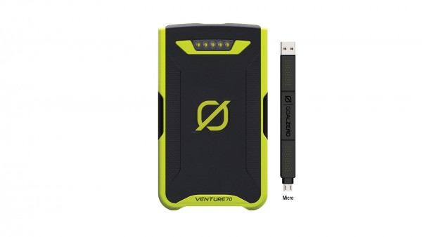 GoalZero Venture 70 Recharger micro USB