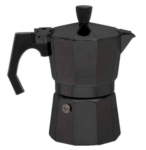 Relags Espressokocher Bellanapoli 3 Tassen - Schwarz