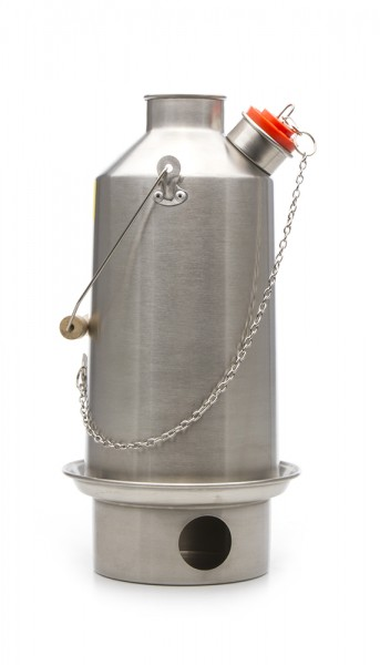 Kelly Kettle Base Camp Edelstahl Wasserkocher 1,6 Liter