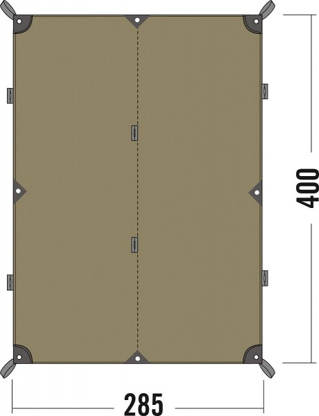 Tatonka Tarp 4 TC - 285 x 400 cm