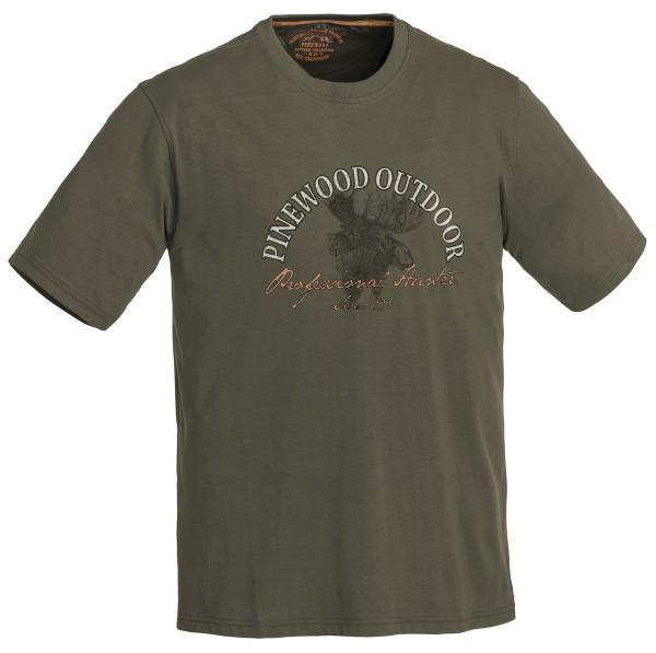 Pinewood Moose Kids T-Shirt mit coolem Elchmotiv